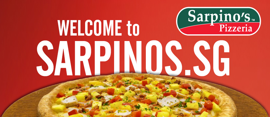 Welcome to Sarpinos.sg