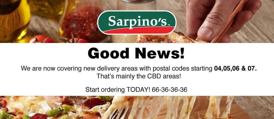 Sarpino's coupon code